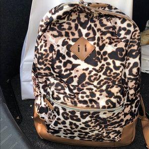 Leopard Bookbag